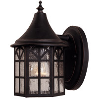 Savoy House Manchester 1 Light Outdoor Wall Lantern in Slate 5-8250-25