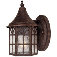 Savoy House Manchester 1 Light Outdoor Wall Lantern in New Tortoise Shell 5-8250-56 photo thumbnail