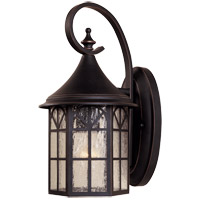 Savoy House Manchester 1 Light Outdoor Wall Lantern in Slate 5-8251-25
