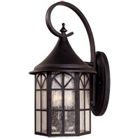 Savoy House Manchester 3 Light Outdoor Wall Lantern in Slate 5-8252-25