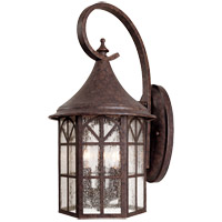 Savoy House Manchester 3 Light Outdoor Wall Lantern in New Tortoise Shell 5-8252-56 photo thumbnail