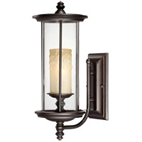 Savoy House Chestatee 1 Light Outdoor Wall Lantern in English Bronze w/Gold 5-8710-213 photo thumbnail
