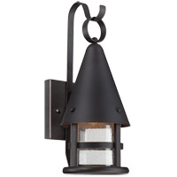 Savoy House Woodsmith 1 Light Dark Sky Outdoor Wall Lantern in Slate 5-9500-DS-25