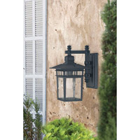 Savoy House Linden 1 Light Outdoor Wall Lantern in Textured Black 5-9590-BK alternative photo thumbnail