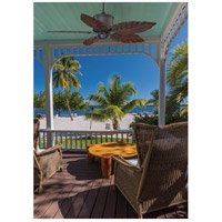Savoy House 52-083-5RO-13 Portico 52 inch English Bronze with Rosewood Blades Outdoor Ceiling Fan alternative photo thumbnail