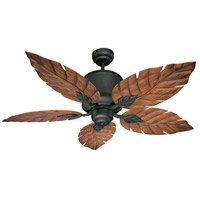 Savoy House Portico Ceiling Fan in Horseshoe Black 52-083-5WA-24