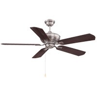Braddock 52 inch Brushed Pewter with Cherry/Chestnut Blades Ceiling Fan