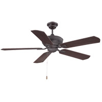 Braddock 52 inch English Bronze with Gold with Cherry/Walnut Blades Ceiling Fan