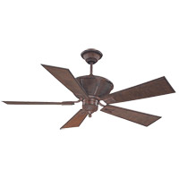 Savoy House Danville Ceiling Fan in Dark Bamboo 52-110-5BA-04