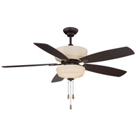 Sheffield 52 inch English Bronze with Chestnut/Walnut Blades Ceiling Fan