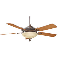 Savoy House Bristol 2 Light Ceiling Fan in Antique Copper 52-15-5TK-16