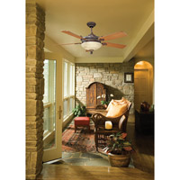 Savoy House Bristol 2 Light Ceiling Fan in Antique Copper 52-15-5TK-16 alternative photo thumbnail