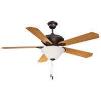 Savoy House Corvalis 2 Light Ceiling Fan in English Bronze 52-160-5RV-13