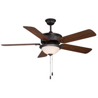 Savoy House 52-170-5RV-13 Ventura 52 inch English Bronze with Walnut/Teak Blades Ceiling Fan photo thumbnail