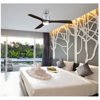 Savoy House 52-190-3CN-187 Amherst 52 inch Brushed Pewter with Chestnut Blades Ceiling Fan alternative photo thumbnail