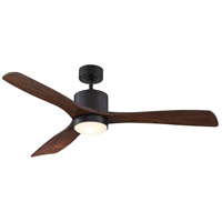 Amherst 52 inch English Bronze with Walnut Blades Ceiling Fan