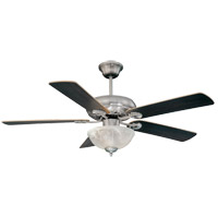 Savoy House 52-411-5RV-SN Charleston 52 inch Satin Nickel with Chestnut/Maple Blades Ceiling Fan alternative photo thumbnail