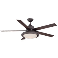 Savoy House Bancroft 1 Light Ceiling Fan in English Bronze 52-450-5CH-13