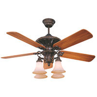 Savoy House Villamoura Ceiling Fan in New Tortoise Shell 52-500-5WA-56 photo thumbnail
