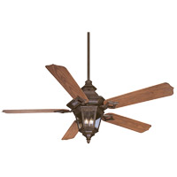 Savoy House Chatsworth 3 Light Ceiling Fan in Walnut Patina 52-515-5O-40