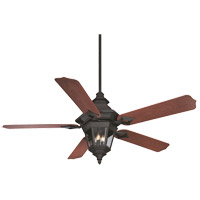 Savoy House Chatsworth 3 Light Ceiling Fan in Horseshoe Black 52-515-5RO-24
