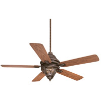 Savoy House Monticello 3 Light Ceiling Fan in Walnut Patina 52-525-5O-40