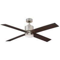 Savoy House 52-6110-4CN-SN Dayton 52 inch Satin Nickel with Chestnut Blades Ceiling Fan