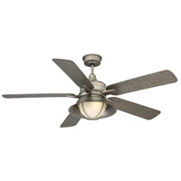 Savoy House 52-625-5AS-242 Hyannis 52 inch Aged Steel Outdoor Ceiling Fan