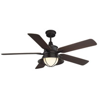 Savoy House 52-625-5CN-13 Hyannis 52 inch English Bronze with Chestnut Blades Outdoor Ceiling Fan