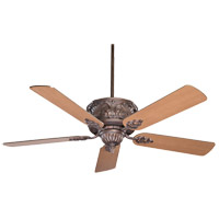 Savoy House Gossamer Ceiling Fan in Bark and Gold (Blades sold separately) 52-705-MO-52