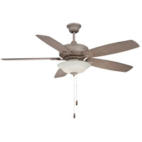 Wind Star 52 inch Aged Wood Ceiling Fan