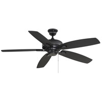 Savoy House 52-830-589-89 Windstar 52 inch Matte Black Ceiling Fan