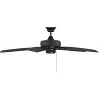 Savoy House 52-830-589-89 Windstar 52 inch Matte Black Ceiling Fan