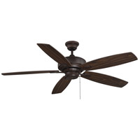 Wind Star 52 inch Espresso with Walnut/Chestnut Blades Ceiling Fan