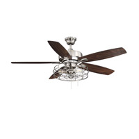 Savoy House 52 830 5rv 187 Wind Star 52 Inch Brushed