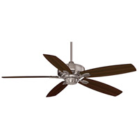Savoy House 52-830-5RV-187 Wind Star 52 inch Brushed Pewter with Walnut/Chestnut Blades Ceiling Fan alternative photo thumbnail