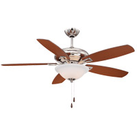 Savoy House 52-831-5RV-109 Mystique 52 inch Polished Nickel with Chestnut/Teak Blades Ceiling Fan alternative photo thumbnail