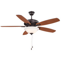 Savoy House 52-831-5RV-13 Mystique 52 inch English Bronze with Walnut/Teak Blades Ceiling Fan photo thumbnail