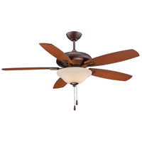 Savoy House Mystique 3 Light 52 Inch Ceiling Fan in Byzantine Bronze 52-831-5RV-35