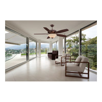 Savoy House 52-831-5RV-35 Mystique 52 inch Byzantine Bronze Teak/Walnut Ceiling Fan alternative photo thumbnail