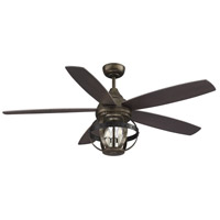Savoy House 52-840-5CN-196 Alsace 52 inch Reclaimed Wood with Chestnut Blades Outdoor Ceiling Fan alternative photo thumbnail