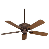 Indigo 52 inch New Tortoise Shell with Chestnut/Walnut Blades Ceiling Fan