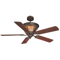 Savoy House Artesno 6 Light Ceiling Fan in New Tortoise Shell (Blades sold separately) 52-990-MO-56