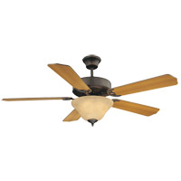 Savoy House 52-ECM-5RV-13 First Value 52 inch English Bronze with Walnut/Teak Blades Ceiling Fan alternative photo thumbnail