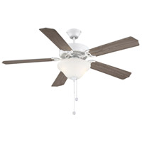 Savoy House 52-ECM-5RV-WH First Value 52 inch White with White/Weathered Patina Blades Ceiling Fan alternative photo thumbnail