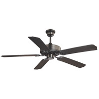 Savoy House 52-EOF-5MB-FB Nomad 52 inch Flat Black with Matte Black Blades Outdoor Ceiling Fan photo thumbnail