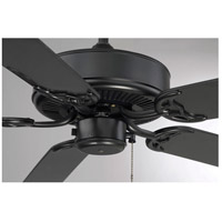 Savoy House 52-EOF-5MB-FB Nomad 52 inch Flat Black with Matte Black Blades Outdoor Ceiling Fan alternative photo thumbnail