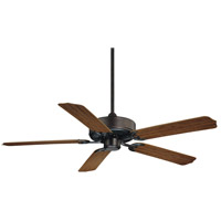 Nomad 52 inch English Bronze with Walnut Blades Outdoor Ceiling Fan