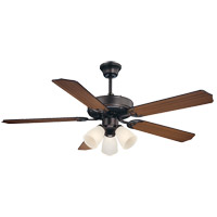 Savoy House 52-EUP-5RV-13WG First Value 52 inch English Bronze with Walnut/Teak Blades Ceiling Fan alternative photo thumbnail