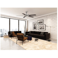 Savoy House 52-FAN-5CN-SN Builder Specialty 52 inch Satin Nickel with Chestnut Blades Ceiling Fan alternative photo thumbnail